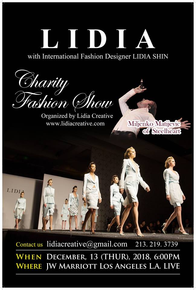 Lidia Creative Charity Fashion Show