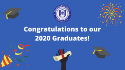 Congratulations to Our 2020 Grads!